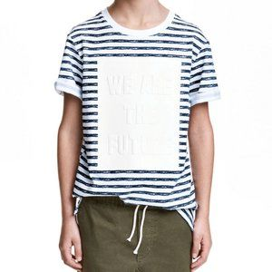 H&M We are the Future Striped Tee